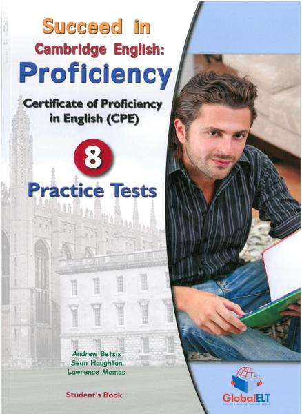 SUCCEED IN CPE 8 PRACTICE TESTS ST/BK