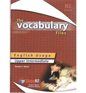 VOCABULARY FILES B2 TCHR'S
