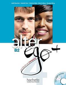 ALTER EGO PLUS 4 (B2) ELEVE (+CD-ROM)