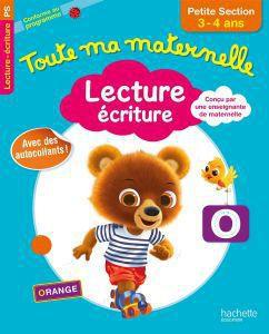 TOUTE MA MATERNELLE LECTURE-ECRITURE MOYENNE SECTION