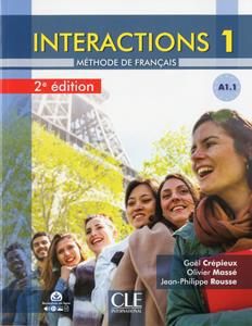 INTERACTIONS 1 2ND EDITION (A1.1) ELEVE (+DVD)