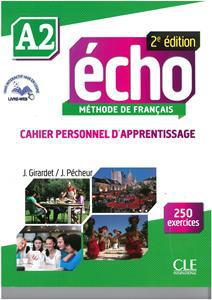 ECHO A2 CAHIER (+CAHIER PERSONNEL+CD) 2e EDITION