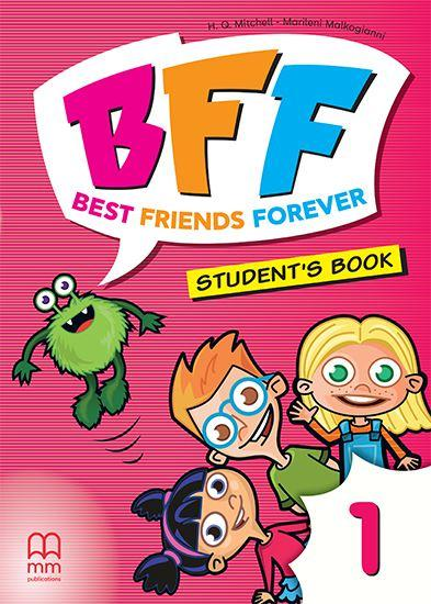 BFF - BEST FRIENDS FOREVER 1 PRE-JUNIOR ST/BK (+ABC BOOK)