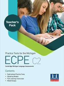 * ECPE PRACTICE TESTS TCHR'S PACK