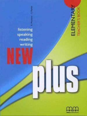 NEW PLUS ELEMENTARY TCHR'S (+GLOSSARY)