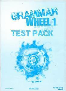 GRAMMAR WHEEL 1 TEST TCHR'S