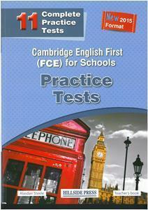 FCE FOR SCHOOLS 11 PRACTICE TESTS 2015 TCHR'S