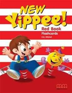 NEW YIPPEE RED FLASHCARDS