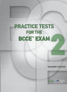 BCCE PRACTICE TESTS 2 TCHR'S (+3CDs)