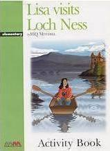 LISA VISITS LOCH NESS ACTIVITY BOOK