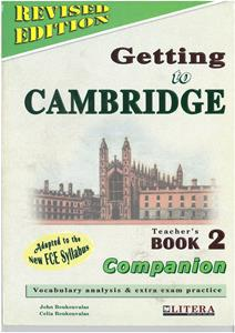 GETTING TO CAMBRIDGE 2 (REVISED) COMPANION TCHR'S
