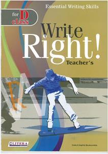 WRITE RIGHT 1 FOR D CLASS TCHR'S