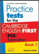 FIRST (FCE) PRACTICE TEST EXAMINATION TCHR'S