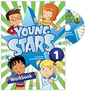 YOUNG STARS 1 (PRE-JUNIOR) WKBK (+CD)