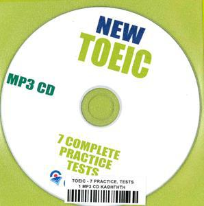 NEW TOEIC 7 COMPLETE PRACTICE TESTS MP3-CD