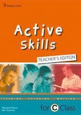 ACTIVE SKILLS FOR C CLASS TCHR'S