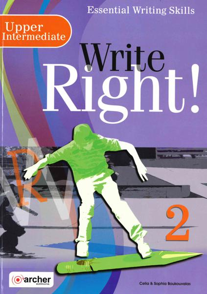 WRITE RIGHT! 2 ST/BK 2019