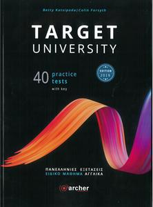 TARGET UNIVERSITY 40 PRACTICE TESTS WITH KEY 2019